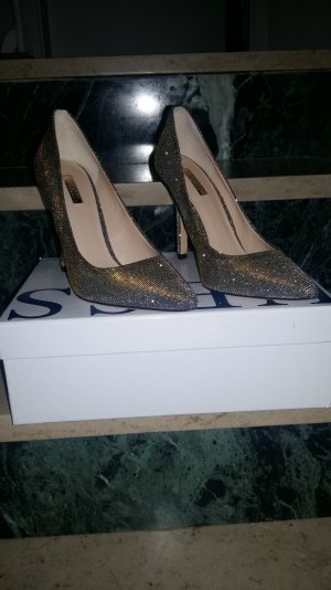 Guess Pumps in Gold / Silber