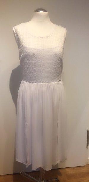 Guess: Raffiniertes Kleid in Weiß Gr. L NEU und ungetragen