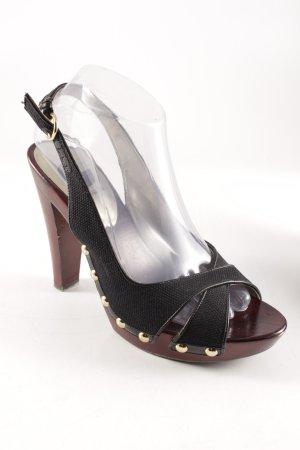 Guess Strapped pumps black-russet elegant