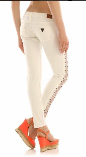 guess rockstud Aztek Beverly slim fit jeans w25