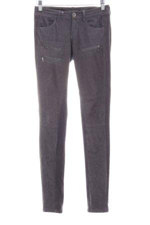 Guess Pantalone a sigaretta grigio scuro elegante