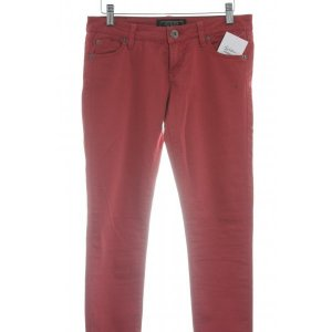 Guess Drainpipe Trousers red classic style