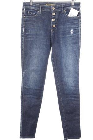 Guess Jeans a sigaretta blu scuro stile casual