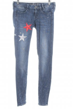 Guess Tube Jeans printed lettering casual look