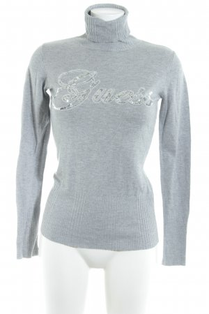 Guess Turtleneck Sweater light grey casual look
