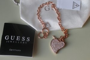 Guess rose gold  New Love  armband