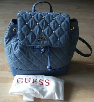 Guess Rucksack Backpack Kailey - Jeans Denim