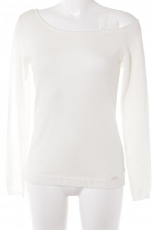 Guess Kraagloze sweater room casual uitstraling