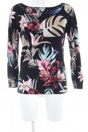 Guess Kraagloze sweater bloemen patroon romantische stijl