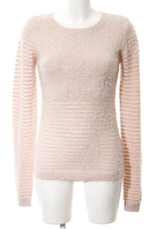 Guess Maglione girocollo rosa pallido stile casual