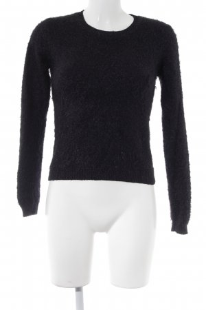 Guess Crewneck Sweater black casual look