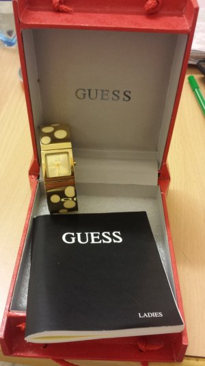 Guess Watch gold-colored-oatmeal