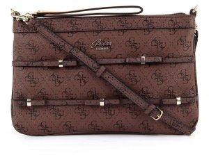 GUESS Sadie Petite Crossbody Clutch Tasche SG234672 braun chestnut NEU