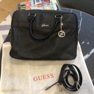 Guess Laptop bag black-gold-colored