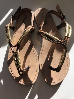 Guess Toe-Post sandals multicolored