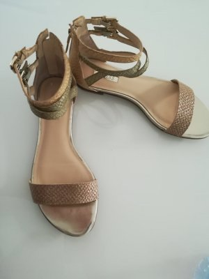 Guess Strapped Sandals multicolored leather