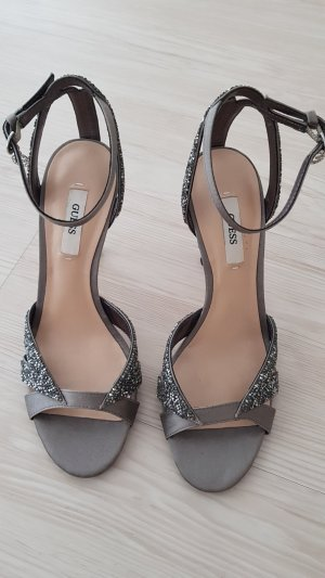 Guess High-Heeled Sandals grey