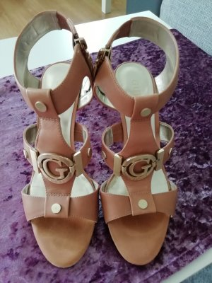 Guess High Heel Sandal gold-colored-light brown