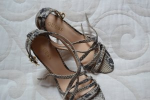Guess Sandaletten Gr. 40 Schlangenoptik