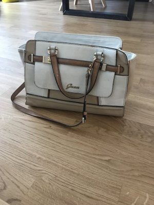 GUESS Satchel in beige