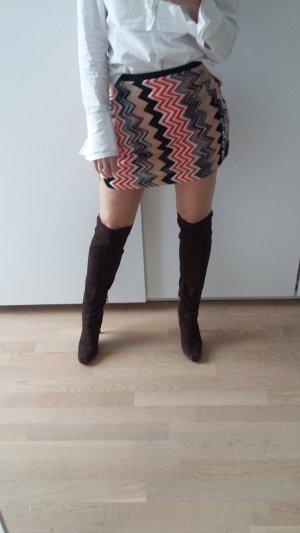 Guess Schaftstiefel braun Street-Fashion-Look