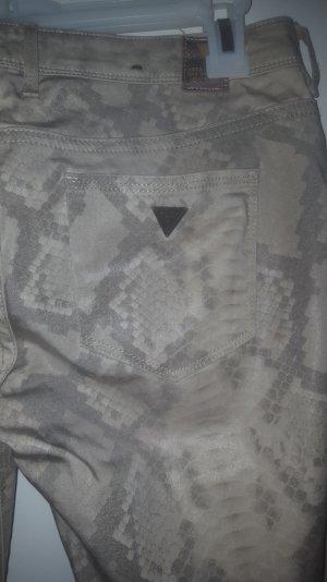 Guess Pantalón amarillo claro-camel Poliéster