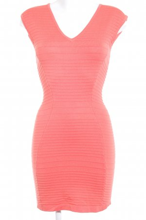 Guess Tube Dress salmon casual look