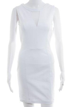 Guess Vestido de tubo blanco elegante