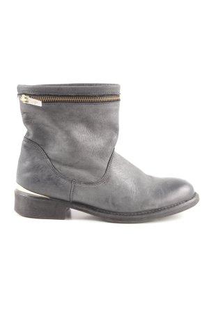 Guess Botas deslizantes gris oscuro look casual