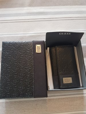 Guess Key Case black