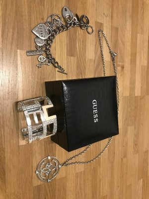 Guess Chain silver-colored
