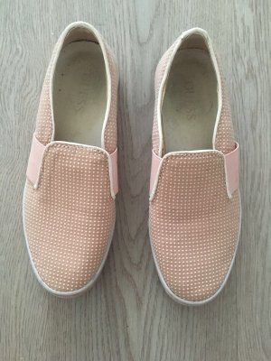 Guess Ballerines blanc-rose