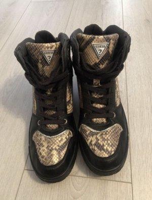 Guess Heel Sneakers black-cream
