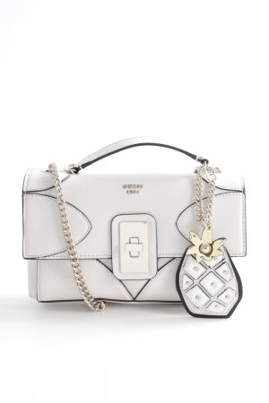 "Guess Schultertasche ""Fruit Punch Convertible Crossbody Flap Shell"" creme"