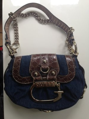 Guess Schultertasche Jeans