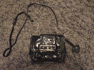 Guess schwarze/ Lack Handtasche