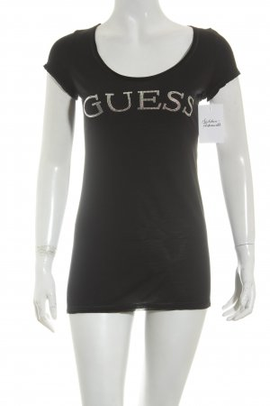 Guess Shirt schwarz Casual-Look