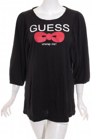 Guess Camisa negro look casual