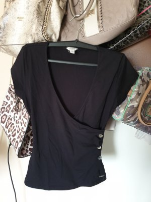 Guess Basic Top black-silver-colored