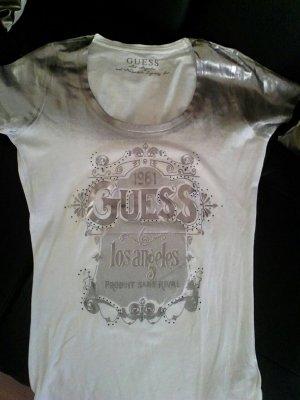 Guess shirt weiß silber