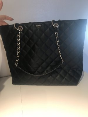 Guess Borsa shopper nero-argento