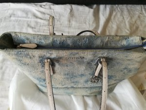 Guess Shopper bleu azur-blanc fibre textile