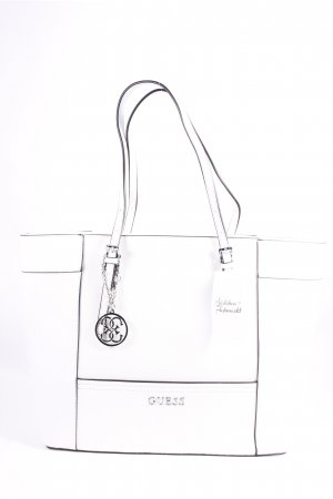 "Guess Shopper ""Delaney Medium Classic Tote White"""