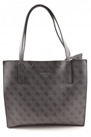 Guess Shopper grau-schwarz Karomuster Street-Fashion-Look