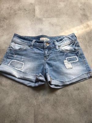 Guess Shorts azul celeste-azul acero