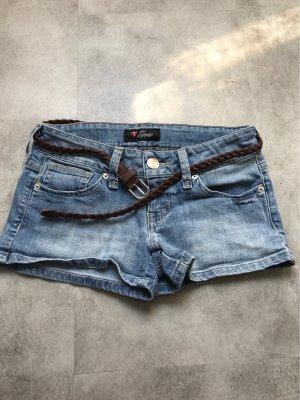 Guess Shorts azul acero