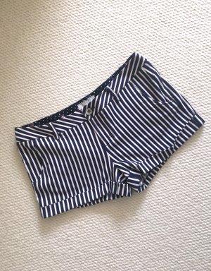 Guess Shorts (blau-offwhite gestreift)
