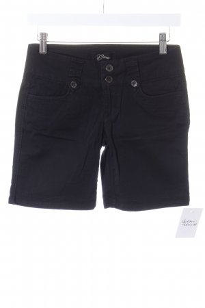 Guess Shorts negro estilo safari
