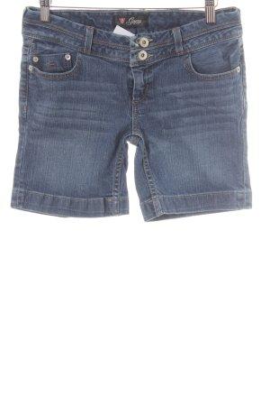 Guess Shorts azul acero look casual
