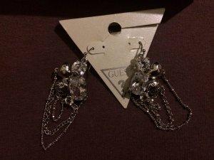 GUESS Silber Ohrringe mit Zirkonia